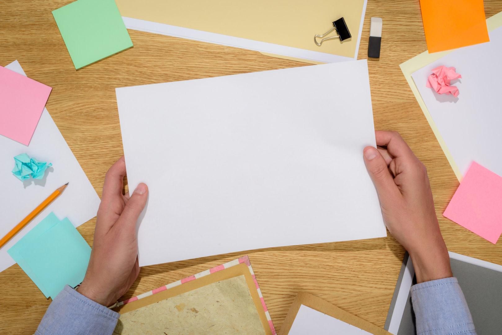 Como resumir seu plano de marketing em apenas uma página