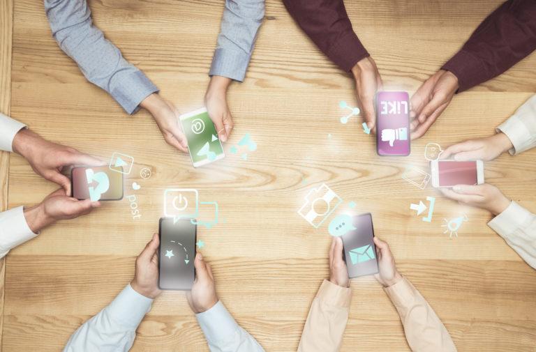 integração entre redes sociais
