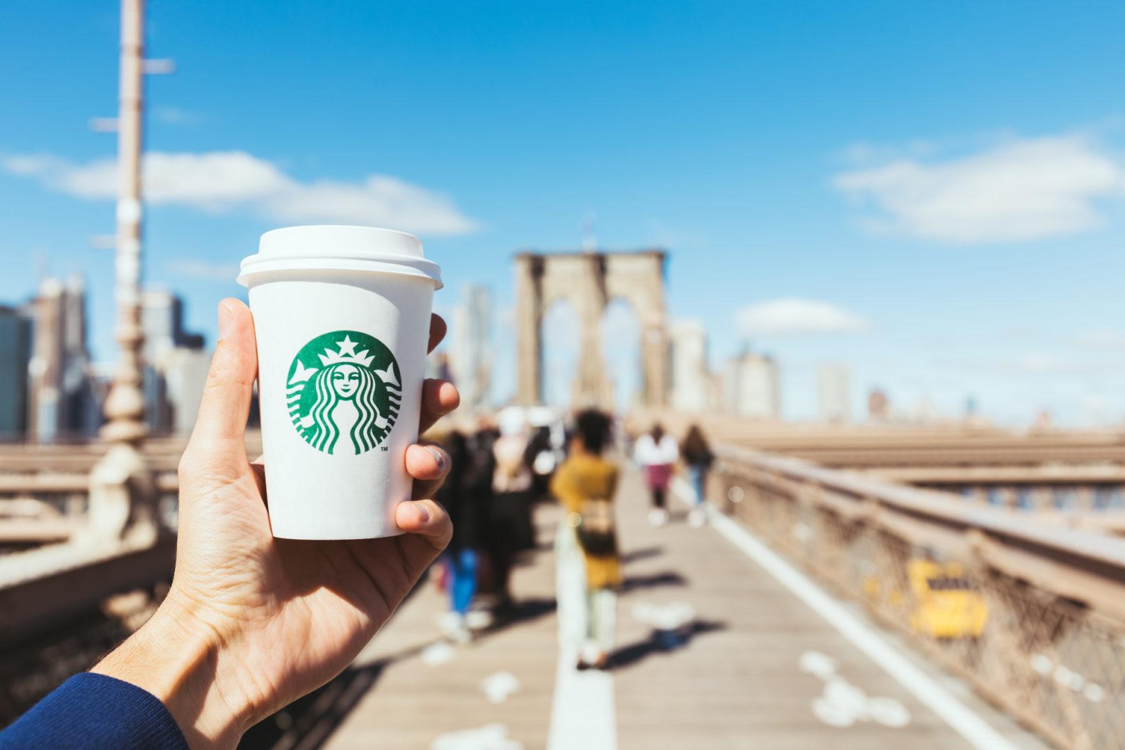 O sucesso da Starbucks na China