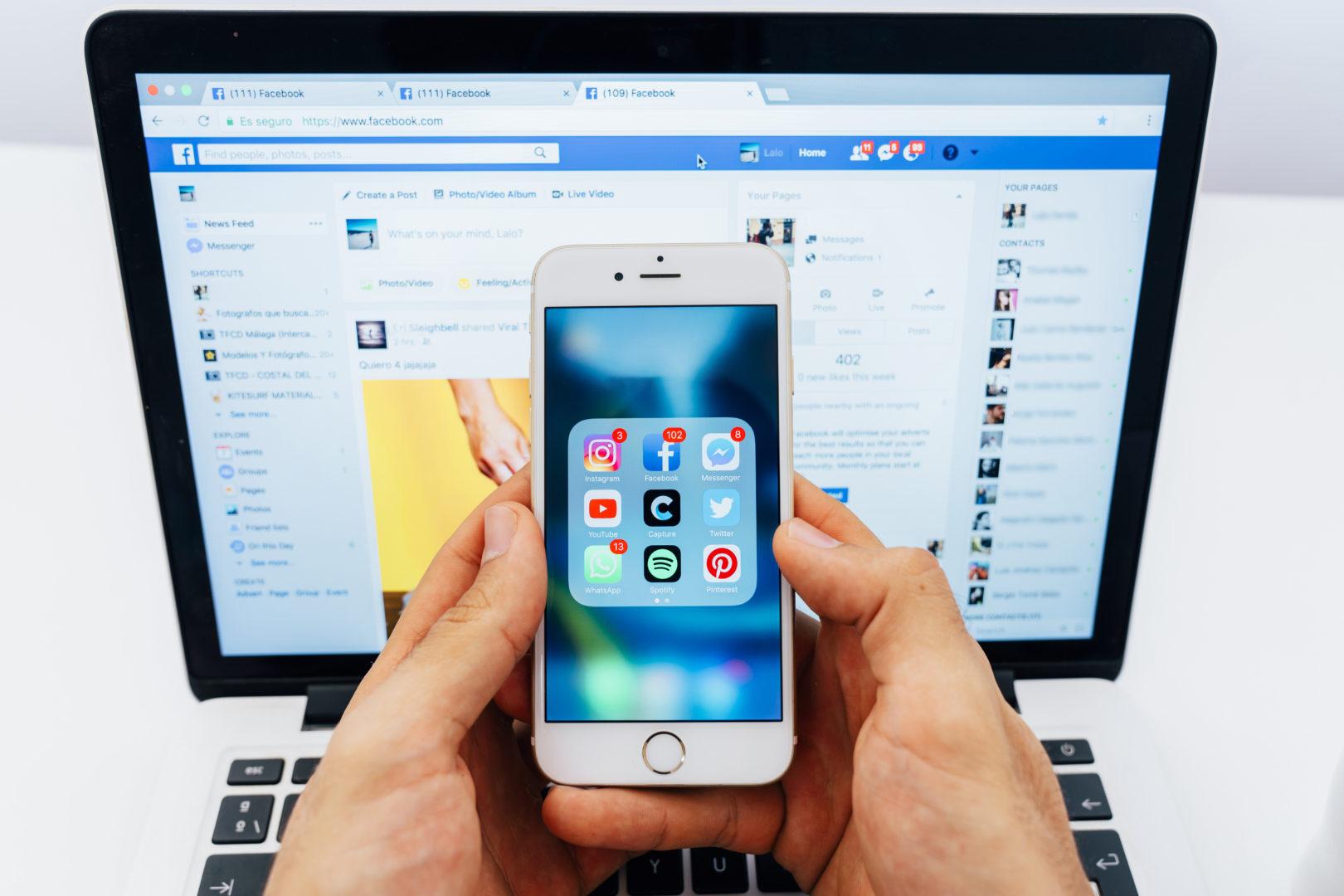 Facebook tem 4 dos 5 aplicativos mais baixados em 2019