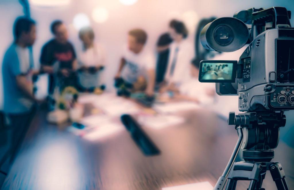produzir um vídeo para a internet