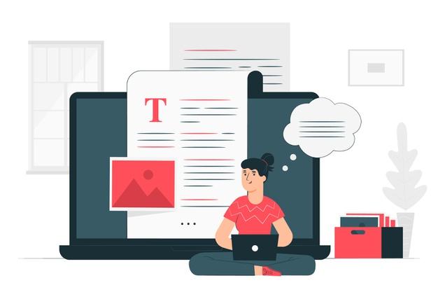 blogging-illustration-concept_114360-788